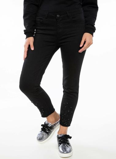 DeFacto Anna Yüksek Bel Super Skinny Pantolon Siyah